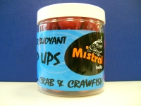 Mistral Pop Ups 25mm Crab and Crawfish 250ml